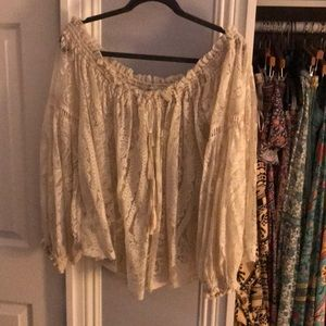 SPELL AND THE GYPSY RHIANNON BLOUSE cream